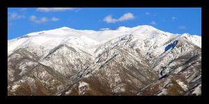 Snow Capped by Shamas