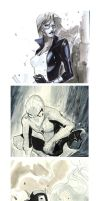 The avengers sketch coverstyle by Peter-v-Nguyen