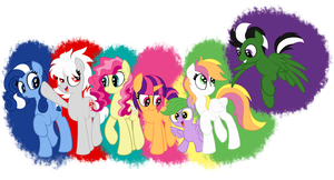 Friends of Many Colors by meta-cause