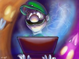 Luigi's Fear by Super-Mario-Whirled