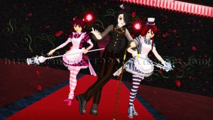 [MMD] Welcome to Never-Wonderland... by MrMario31095