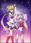 Moon and Chibi Moon by SMeadows