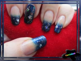 Holy Night Nailart by Yamialexa