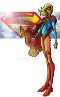 Supergirl 2014 1h by BrianTyson