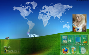 Windows 7 Desktop Theme 7.2 by SeraphSirius