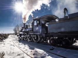 Nsrm Steam Locomotive131215-45 by MartinGollery