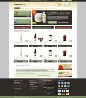 E-commerce Layout by Saptarang