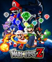 Super Mario Bros Z Season 2 Poster by KingAsylus91