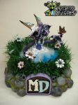 SOLD    'Alina and the Butterfly' 2015 by MacLeodDragons