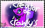 My Crawly's Stamp by CynderAngelDWOship14
