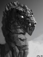 Dragolem Dungeons And Dragons Monster Manual by zelldweller
