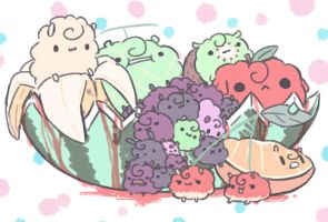 fruity sheep by shyanadoe