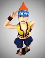Wakka's greeting by albertdevi