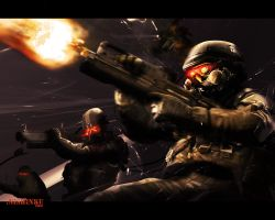 Killzone 2 Helghast Chaos by Nishinku
