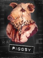 Manhunt Piggsy Bust Figure Statue by Sanguinarian-Craving