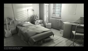 Bedroom _lighting test by DANNY-KURIAN
