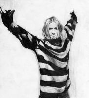 Kurt Cobain by BJ-Jackson