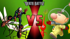 Death Battle: Ant-Man vs Olimar by WarioGuy