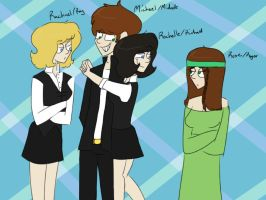 Genderbend Pappies by psychedelic-weirdo