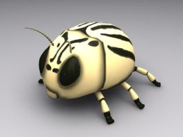 Cartoon Potato Beetle by sicklilmonky