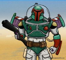 Boba Fett Buzz Lightyear by nlcast