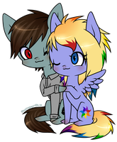 Headsmack and Iris Spectrum by ponymonster
