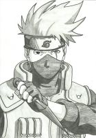 One of my favorite Kakashi by Draculsondevil