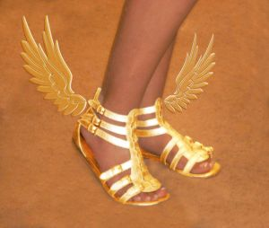 Winged Sandals of Myth