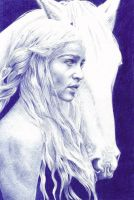 Daenerys Targaryen-Game of Thrones by dark-gates