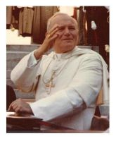 Pope John Paul II by christians