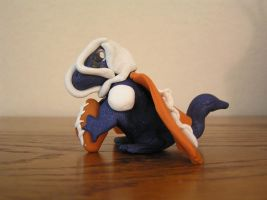 Clay Dragon 3- Football by oblivion-of-sanity