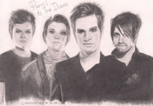 Panic At The Disco by TheRockCandysMelted