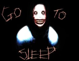 Jeff (THE KILLER) Go To Sleep by BubblegumPink101