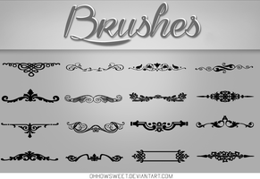 Brushes - Vintage by OhHowSweet