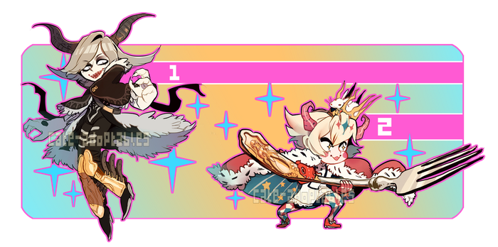CHOOSE AND FIGHT- auction CLOSED, THANK YOU! by Cate-adoptables