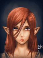 Val [Speed Painting] by CaptainBombastic