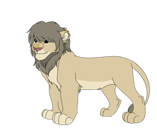 Male Lion Adoptable 12 - CLOSED - by Soufroma