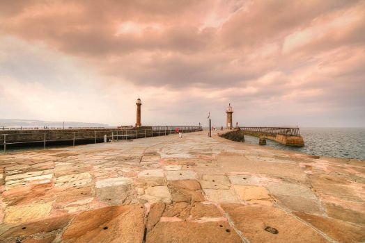 Whitby Harbour by JWalkerimages