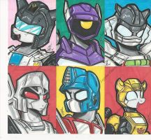 More My little Transformers by PonyGoddess