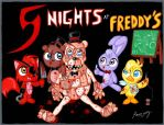 Five Nights at Freddys CUTE by Rammzblood