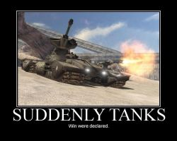 Suddenly Tanks by bthauronite