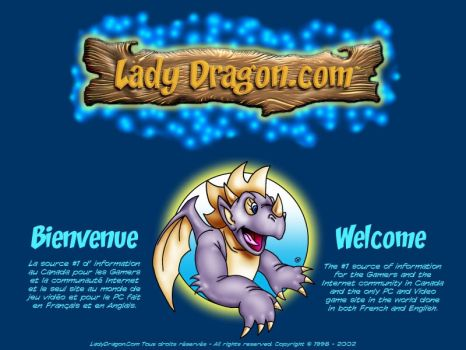 Lady Dragon - Welcome by tapewormz