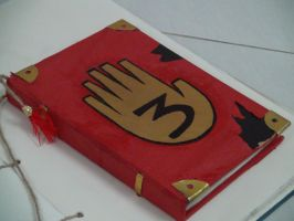 Gravity Falls Journal 3 Replica - Front Cover by leoflynn