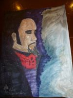 Cleve Hall at Crypticon Quick Painting by Poorartman