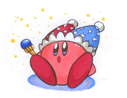 Mirror Kirby by Tesnuzzik