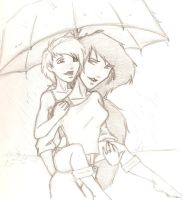 A Walk in the Rain by Bri-sta