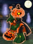 Chibi Trick-or-Treater by PlayboyVampire