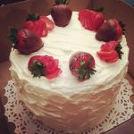 Chocolate covered strawberry cake by Sparkleschic