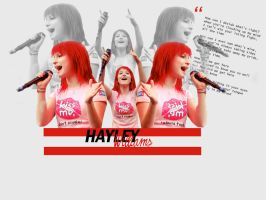 Hayley Williams by unterdersonne