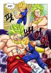 Broli vs vegetto by oume12